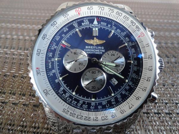 Breitling Navitimer Dial Azul replica de reloj