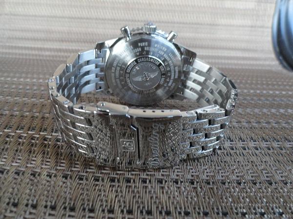 Replica Breitling Navitimer Reloj nuevo caso y plegable