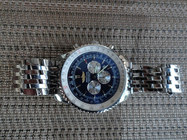 Breitling Navitimer Replica reloj Todo acero inoxidable