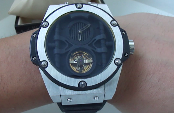 Replica de reloj Hublot King Power Troubillon