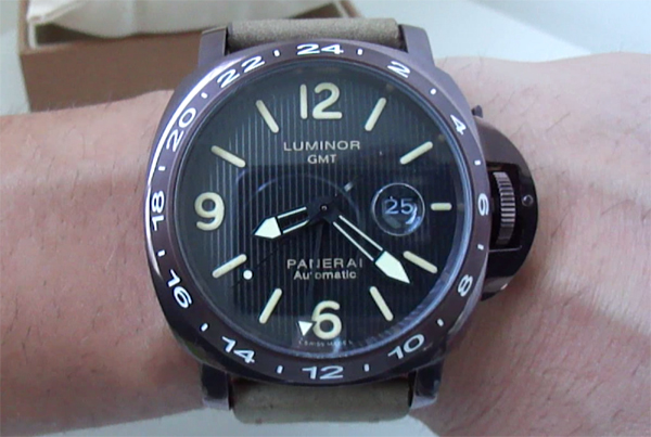 Replica de reloj Panerai Luminor GMT