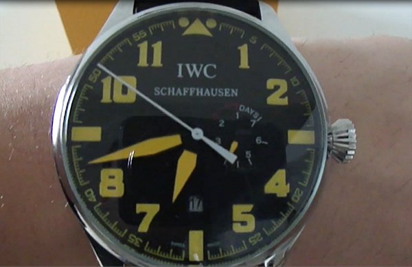 replica de reloj IWC Big Pilot