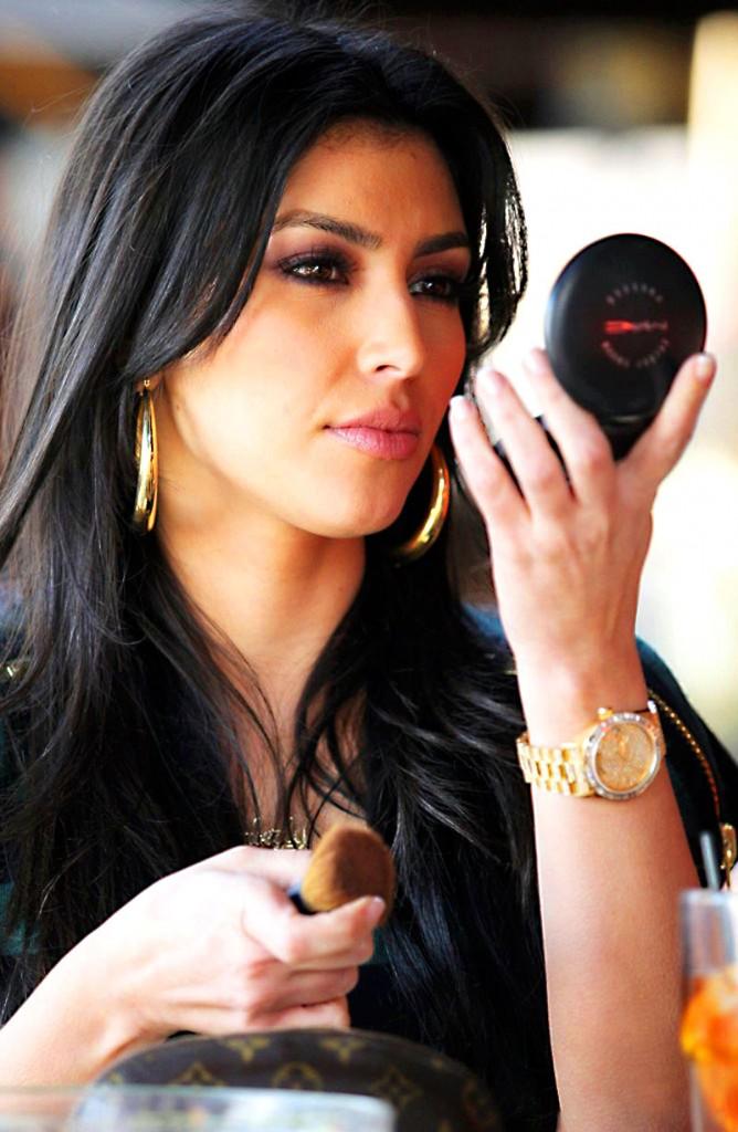 Rolex de oro de Kim Kardashian, falso reloj falso Rolexx, Rolex Kim Kardashian