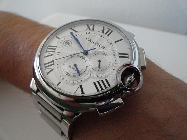 Replica de reloj Ballon Bleu de Cartier Cronógrafo XL