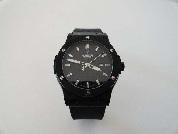 Hublot Classic Fusion toda visión general replica de reloj negro