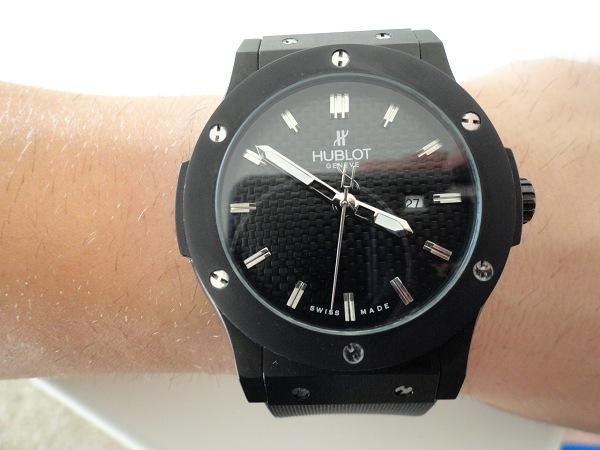 Hublot Classic Fusion toda replica de reloj negro