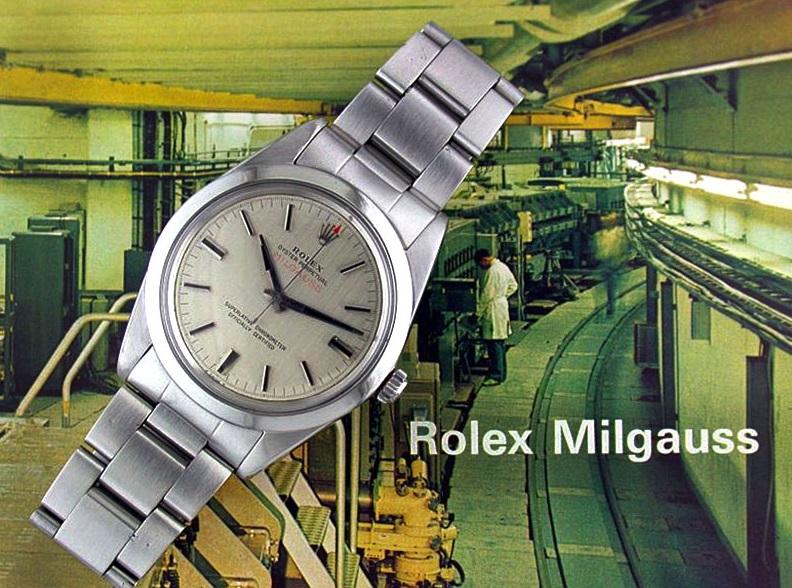 Ofertas baratas en Relojes perfecto para la Rolex Milgauss Replica