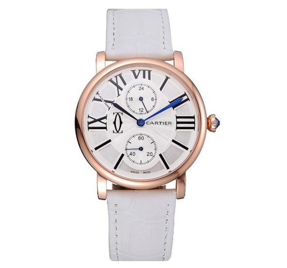 Cartier Ronde segundo huso horario sigue las tendencias de moda