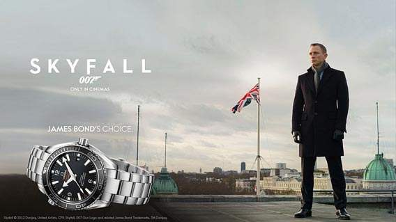 Reloj Omega Daniel Craig Skyfall