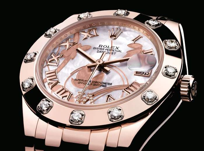 rolex oyster perpetual datejust mujer replica