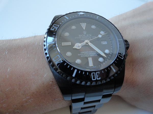 Rolex Deepsea Jacques Piccard Replicas Relojes