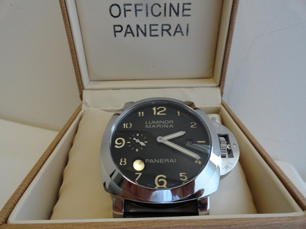 64365514ea1a Panerai Luminor Marina Réplica De Relojes De Revisión De Fotos ...