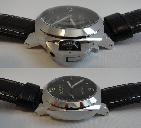 Panerai Luminor Marina reloj falso sitios de revisión de la foto