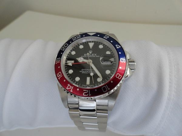 Rolex GMT Master II Pepsi Bezel Replicas Relojes