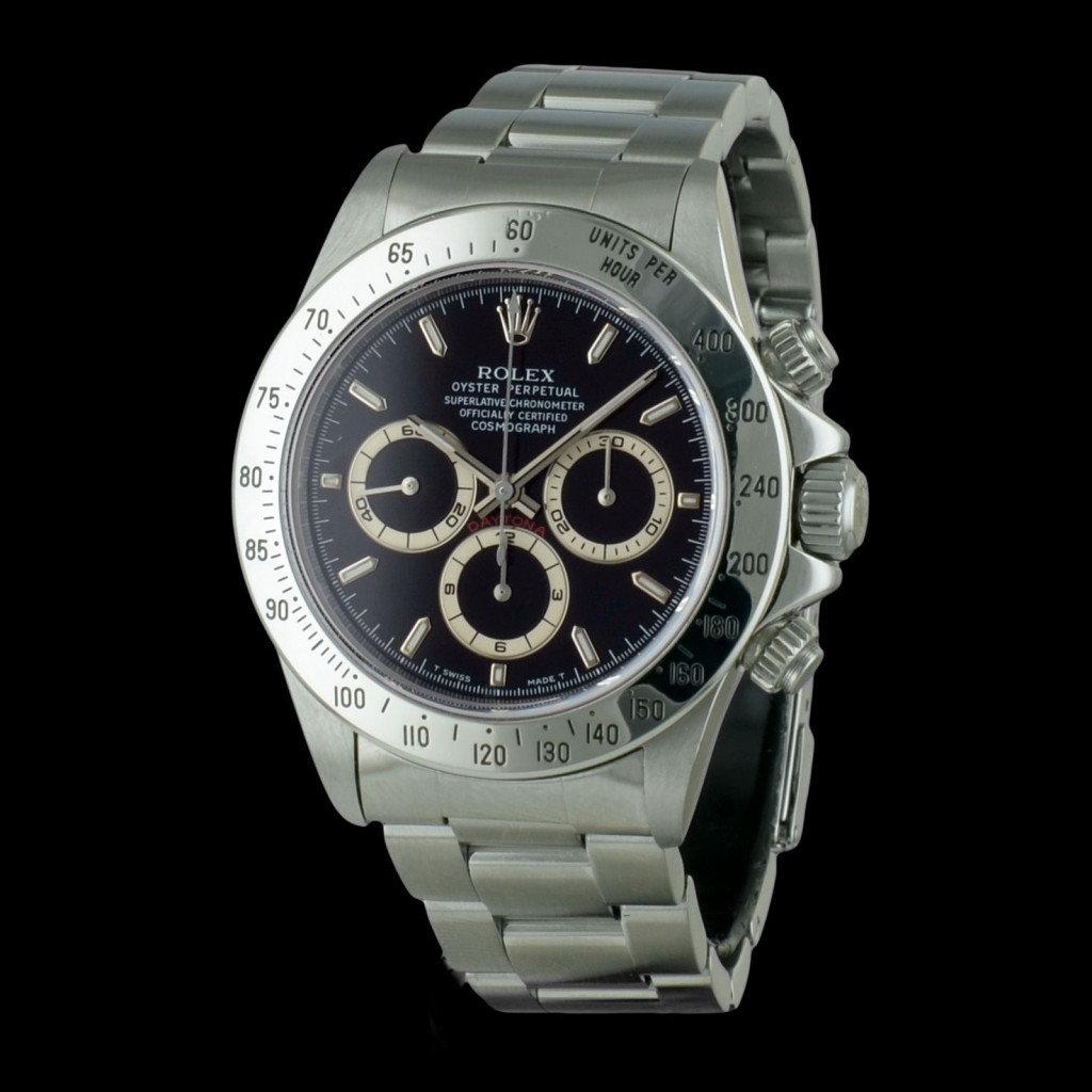 Imitacion Rolex Daytona Negro Dial