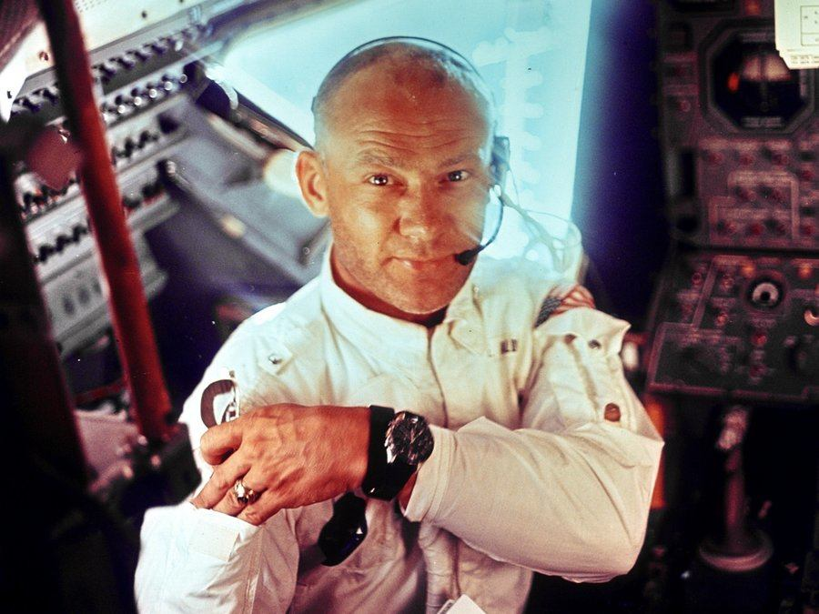 Buzz Aldrin Con Omega Speedmaster