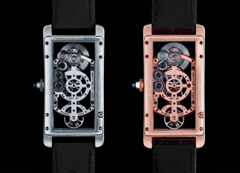 Replicas Relojes De Lujo Cartier Cintree Tank