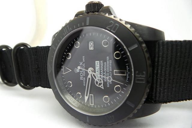 Rolex-Submariner-Estuche-PVD-Negro