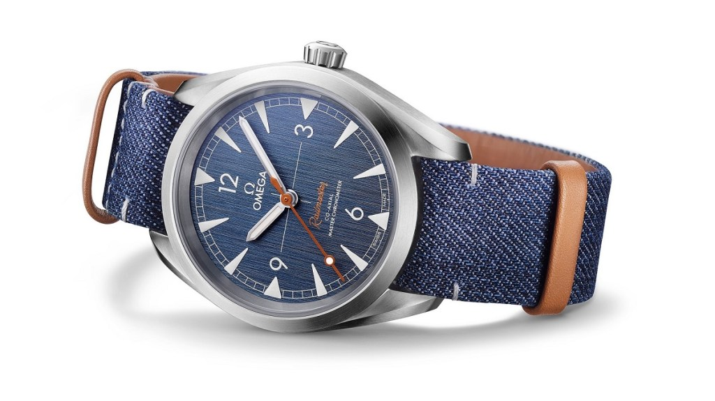 Omega Railmaster 'Denim' Co-Axial Master Chronometer Réplica