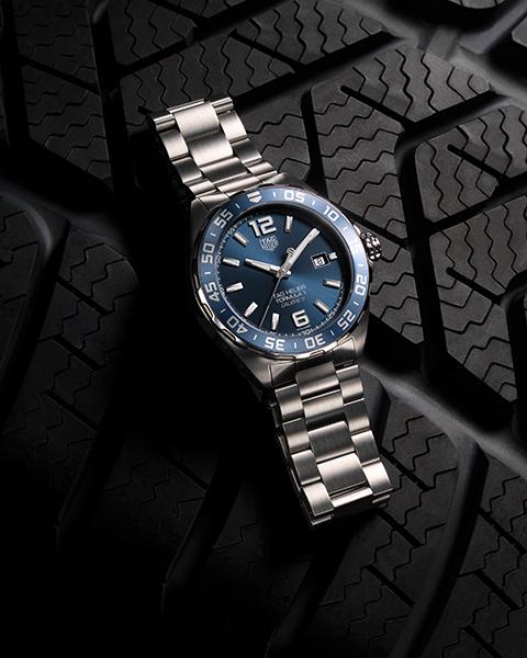 Replica TAG Heuer Formula 1 Bucherer Azul