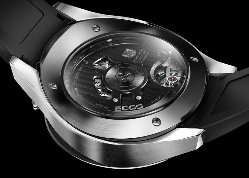 Tag Heuer Mikrogirder 2000 Concepto Cronógrafo Replica Reloj