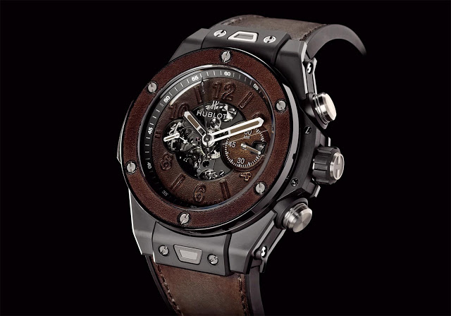 Hublot Big Bang Unico Berluti Cold Brown Replicas Relojes
